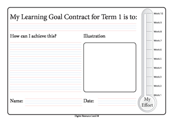 Term Goal Contract - Whole Year