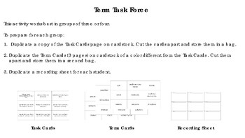 Term Task Force: STAAR Science Review