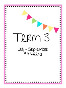 Term by Term title pages