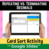Terminating and Repeating Decimals Digital Distance Learni
