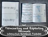 Terminating and Repeating Decimals INB TEKS 7.3A