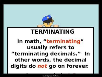Activity Math Lab:  Terminating and Repeating Decimals