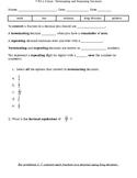 Terminating and Repeating Decimals Quiz
