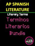 Términos Literarios/ Recursos Técnicos para AP Spanish Literature and Culture