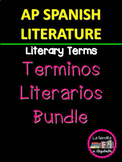 Términos Literarios/ Recursos Técnicos para AP Spanish Lit