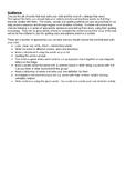 Termly spelling homework template (editable)