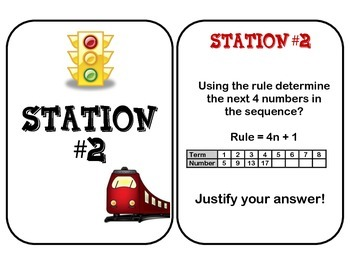 Terms in a Sequence Stations
