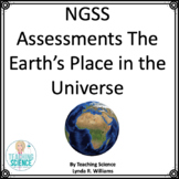 NGSS Assessments for Earth's Place In the Universe Middle
