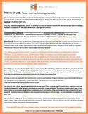 Terms of Use {KURIOZE - Digital Clipart & Graphics}