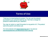 Terms of Use (Teacher Lessons)