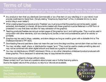 Terms of Use & Button - Updated April 2016