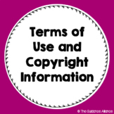 Terms of Use and Copyright Information