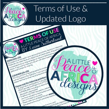 Terms of Use and Updated Logo