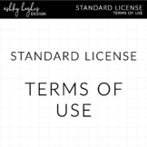 Terms of Use for Clipart (TOU) {A Hughes Design}