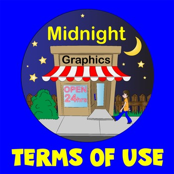 Terms of Use for Midnight Graphics - Digital Use OK