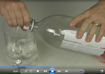 Terra-Aqua Column Video: How does water and salt affect the ecosystem?