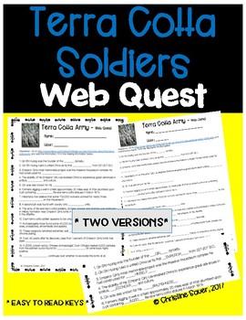 Terra Cotta Army Web Quest