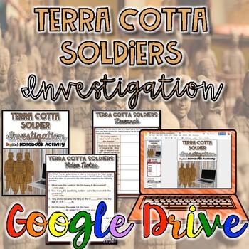 Terra Cotta Soldiers Investigation {Digital}