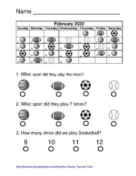 Terra Nova Calendar Counting Practice