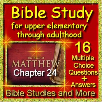 Bible Study Lesson for Middle and High School Students - Signs of End Times