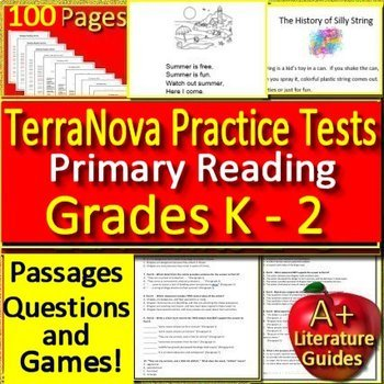 Terranova Practice 1st Grade Worksheets Teaching Resources
