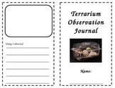 Terrarium Observation Journal {FREEBIE}