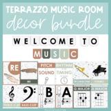 Terrazzo Theme | Music Room Decor