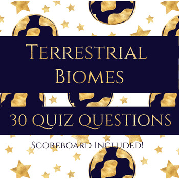 Terrestrial Biomes Review Quiz