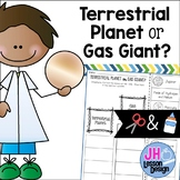 Terrestrial Planet or Gas Planet? Cut and Paste Sorting Activity