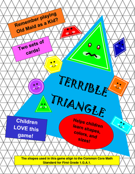 Terrible Triangle Game - First Grade