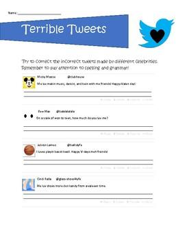 Terrible Tweets