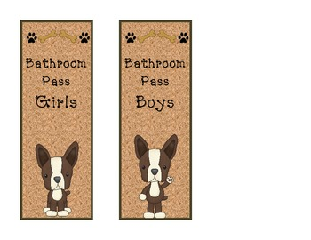 Terriers in the School Dog Themed Passes