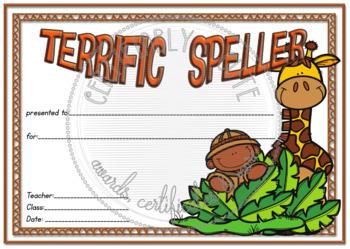 Terrific Speller