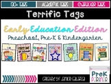 Terrific Tags: Early Education Edition