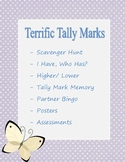 Terrific Tally Marks Games, Posters, Assessments, And More