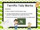 Tally Marks Math Center - Popsicle Stick Fun!!!