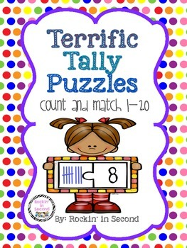 Terrific Tally Marks Puzzles
