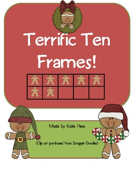 Terrific Ten Frames - Happy Holidays!