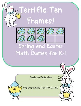 Terrific Ten Frames - Spring & Easter