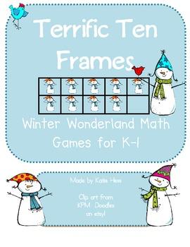 Terrific Ten Frams - Winter Wonderland!