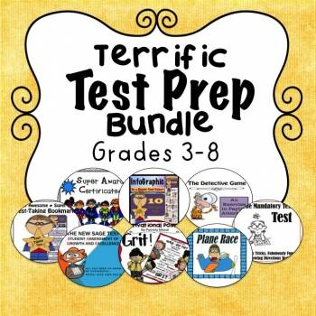 Test Prep Bundle! Now with 10 Terrific Resources!