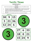Terrific Threes - A 2-Player Game to Practice Multiplying by the Number 3
