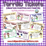 Terrific Tickets {classroom incentives and rewards}