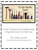 Terrific Tools Preschool Unit!