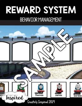 Terrific Train Reward System / Behavior Management Tool Token Chart