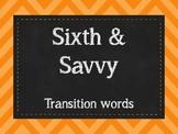 Terrific Transitions Poster Set