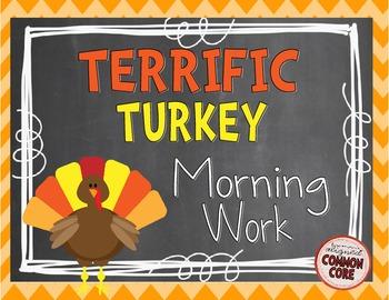 Terrific Turkey Morning Work