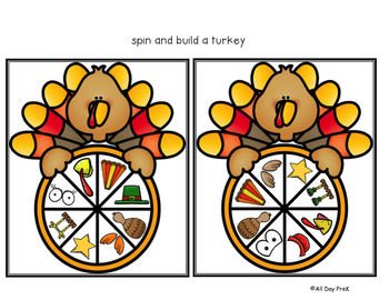 Terrific Turkey Pack: Math and Literacy