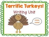 Terrific Turkeys Writing Pack