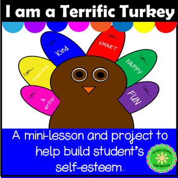 Self Esteem Turkey Lesson and Activity